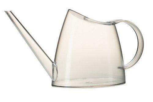 Emsa 572158200 Gießkanne, Volumen 1,5 Liter, Kunststoff, Transparent, Fuchsia