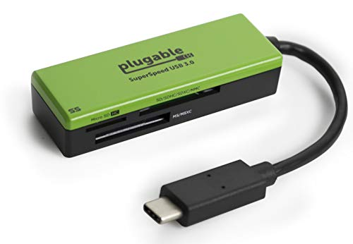 USB Type-C Memory Card Reader for MacBook Pro