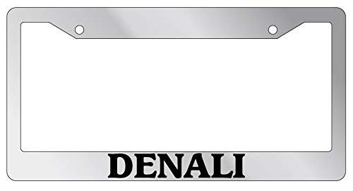 License Plate Frames, License Plate Frame Denali Auto Accessory Novelty National Park 1586 Applicable to Standard car Rust-Proof Weather-Proof License Plate Frame Cover 15x30cm
