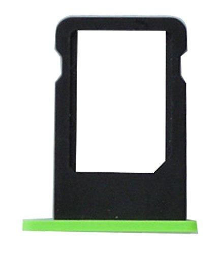 Ilovemyphone Bandeja de Repuesto Porta Nano sim para iPhone 5C Soporte Tarjeta Color Verde