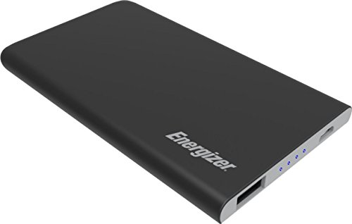 Energizer Powerbank HighTech voor smartphone, tablet, fitnesstracker, camera, bluetooth luidspreker, enz, 4000 mAh, Zwaz