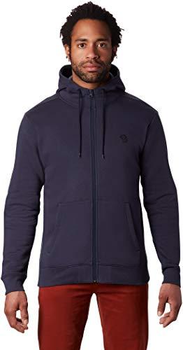 Mountain Hardwear Hardwear Logo Full Zip Hoody Herren Dark zinc Größe S 2019 Jacke