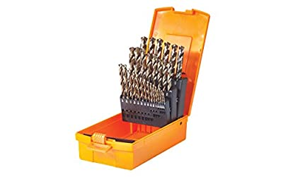 Walter 01E678 C-2 SST+ Drill Bits Set – 135 deg. Industrial Drill Bits in Metal Index Container. Drilling Tools