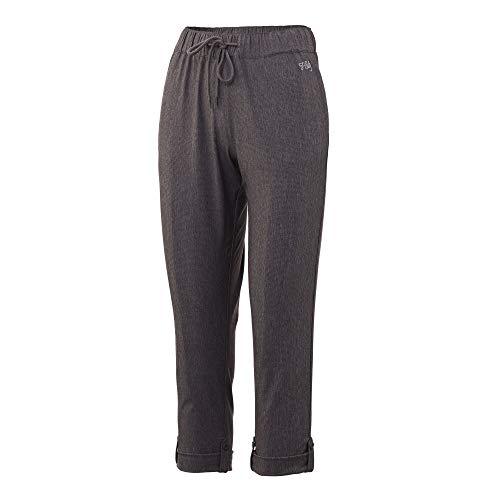 HUK - Angel-Hosen für Damen in Iron Heather, Größe XL