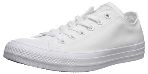 Converse Chuck Taylor All Star, Sneakers Unisex - Adulto, Bianco, 38 EU
