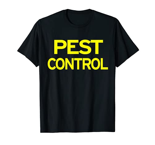 Pest Control Exterminator Halloween Costume T-Shirt