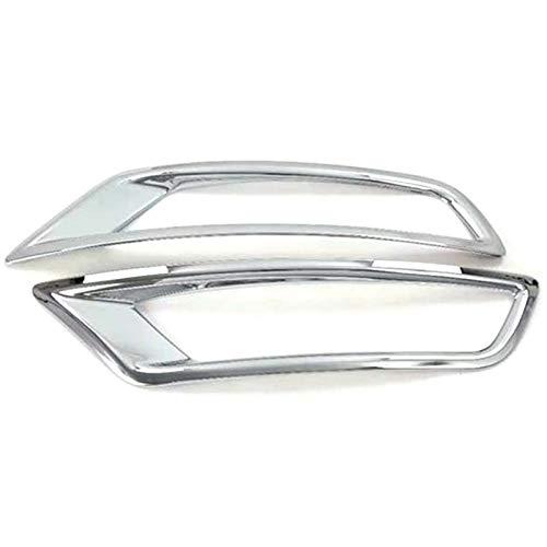 Seitenspiegel-Abdeckung, Nebelscheinwerfer-Abdeckung, Rahmen für Auto, Chrom, ABS, Rückreflektor, Nebelscheinwerfer, Lampen-Abdeckung, Blende für Mazda CX-8 CX8 2018 2019