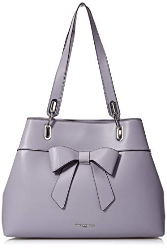 Karl Lagerfeld Paris Katie Large Bow Tote, dusted Lilac