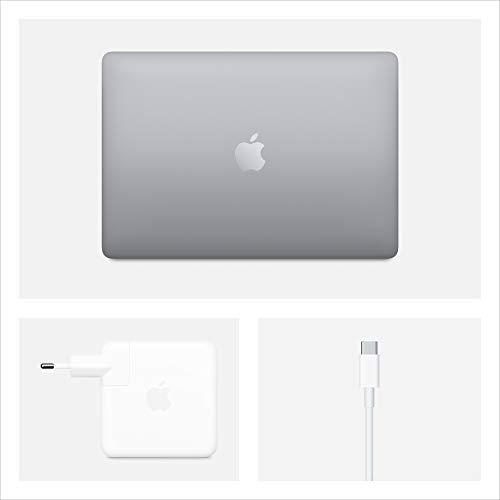2020 Apple MacBook Pro (13, Intel i5 Chip, 16GB RAM, 1TB SSD Lager, Magic Keyboard, Vier Thunderbolt 3 Anschlüsse) - Space Grau