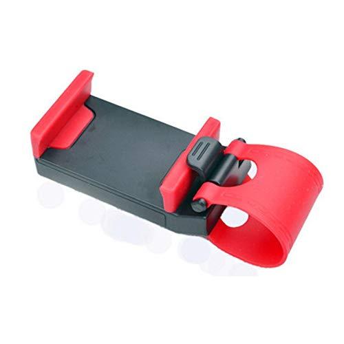 RoxTop Volante del Coche del teléfono móvil del sostenedor del zócalo del Coche Soporte de navegación Clip (Negro)