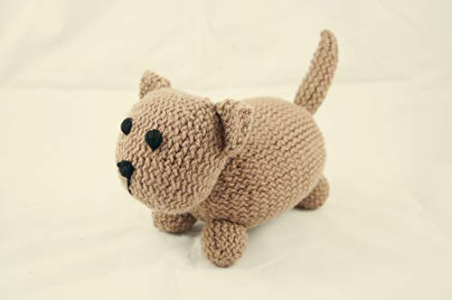 chat chaton peluche tricoté à la main crochet photo prop nouveau bébé cadeau animal en peluche