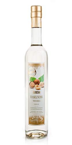 DOLOMITI Haselnuss-Schnaps Premium Spirituose 40% vol. | Haselnussschnaps | 1 x 0,5 Liter