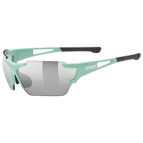 uvex Unisex– Erwachsene, sportstyle 803 race vm Sportbrille, mint, one size