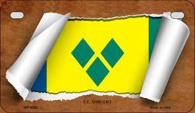 Koopje Wereld Sint Maarten Vlag Scroll Nieuwigheid Motorplaat (Met Sticky Notes)
