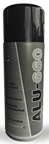 TTP alu660alta temperatura aluminio pintura resistente al calor 400ml aerosol