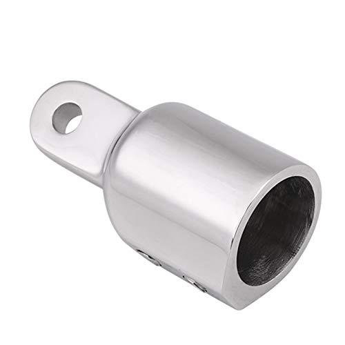 Bisagras de montaje de acero inoxidable Pulido de espejo Pulido Buena planitud Tapa superior de bimini Extremo de ojo Deslizadores de mandíbula(22mm, Double top wire)