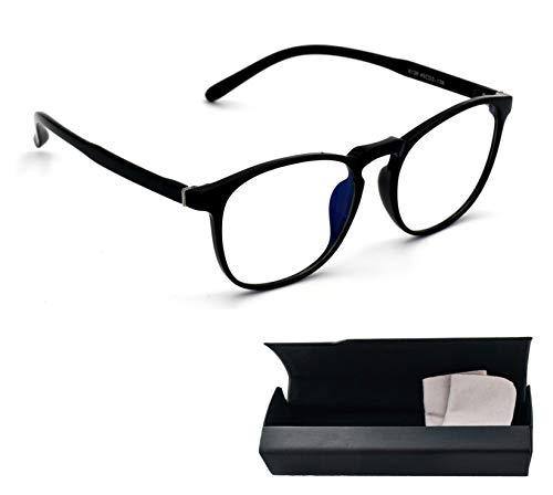 Lumondo PC Brille 2R - Federleichte Computerbrille mit Blaulichtfilter | Gegen Augenmüdigkeit | UV Brille mit natürlichem Farbspektrum | Extrem biegsam