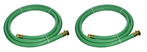 """Swan Leader Hose with 5/8"""" Diameter by 6 Foot - 2 Pack, Male/Female"""