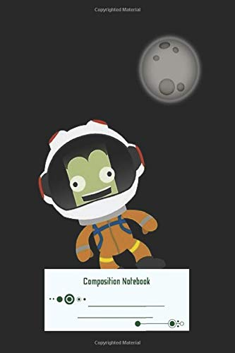 Composition Notebook: Mún Or Bust Kerbal Space Program 100 Pages Wirebound Manuscript