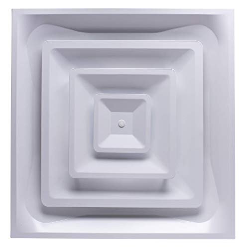 Accord Ventilation ABCD2X2 Ceiling Diffuser, 24' x 24', White