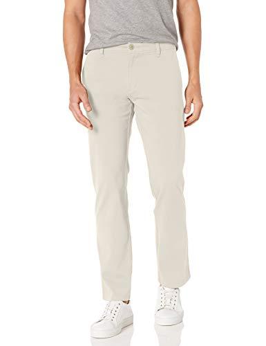 Dockers Men's Straight Fit Ultimate Chino Pants, porcelain khaki, 30W x 30L