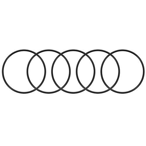 sourcing map 5Stk.O-Ringe Nitril-Gummi 54mm x 60mm x 3mm Seal Ringe Dichtung DE de
