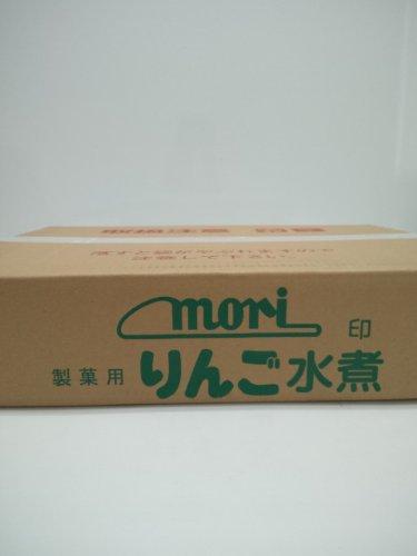 【森食品】リンゴ水煮K-8紅玉9kg