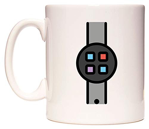 Smartwatch Emoji Taza por WeDoMugs