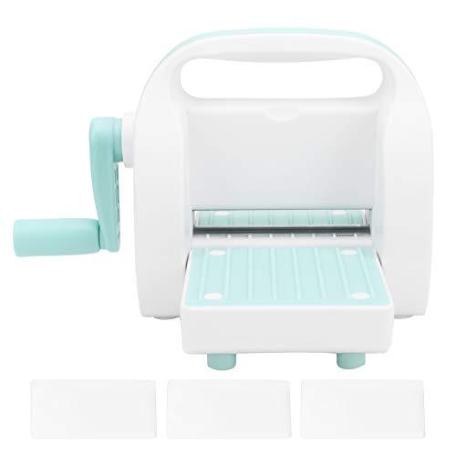 Máquina troqueladora y estampadora, Mini máquina cortadora de papel troqueladora, Suministros de acolchado para manualidades para álbumes de recortes DIY