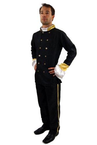 DRESS ME UP Kostüm Uniform Südstaaten Civil War Offizier Zar Gr. 56 XL