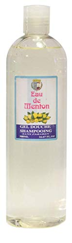 Gel douche et Shampoing - Citron - Eau de Menton - Artisan Parfumeur (500ml)