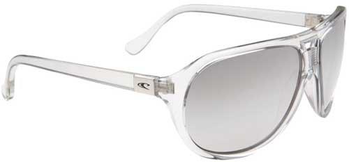 O 'Neill Sweeper Unisex Sonnenbrille Einheitsgröße weiß transparent