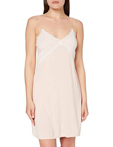 Amazon-Marke: Iris & Lilly Damen Negligé, Pink (Light Peach), XL, Label: XL