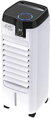 Sichler Haushaltsgeräte Verdunstungskühler: Verdunstungs-Luftkühler mit Oszillation & Peltier-Element, 6 l, 120 W (Klimageräte und Ventilatoren)