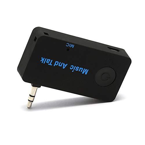 CAPTIANKN Récepteur Bluetooth, Adaptateur Audio sans Fil, Adaptateur Adaptateur pour Kit Voiture 3,5 Mm Jack