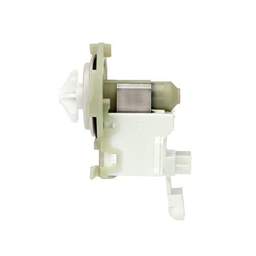 MIRTUX Bomba de Desagüe de Lavavajillas para Diferentes Modelos de Las Marcas: Balay, Bosch, Crolls, LG, Lynx y Siemens Potencia 30W. Código del Recambio: 165261