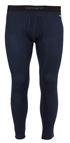 Carhartt Force Midweight Tech - Pantaloni termici da uomo - blu - XL Alti