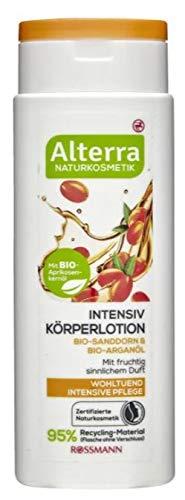 Alterra Intensiv Körperlotion Bio-Sanddorn & Bio-Arganöl - Naturkosmetik - Wohltuende und intensive Pflege