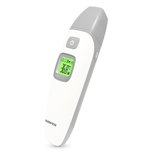 Lifecolor Digital Medical Infrared Thermometer,Forehead and Ear Thermometer for Baby Kids and Adults Fever Health