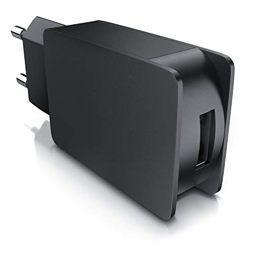 CSL - 2A USB Netzteil Ladegerät max. 2000mA - 5V DC USB Ladeadapter Steckernetzteil - universal für alle Geräte einsetzbar
