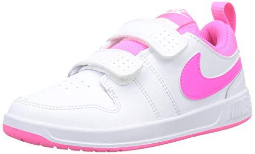 Nike Pico 5 (PSV), Zapatillas Unisex Niños, Blanco (White/Pink Blast 102), 28 EU