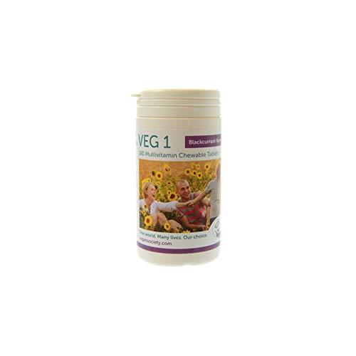 VEG 1 / VEG1 Geschmack Cassis 180 Comp.