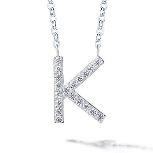 Gift from New York イニシャル ネックレス レディース K プラチナ 加工 ブランド プレゼント 女性