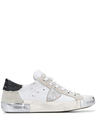 Philippe Model Luxury Fashion Damen PRLDMA02 Weiss Leder Sneakers   Frühling Sommer 20
