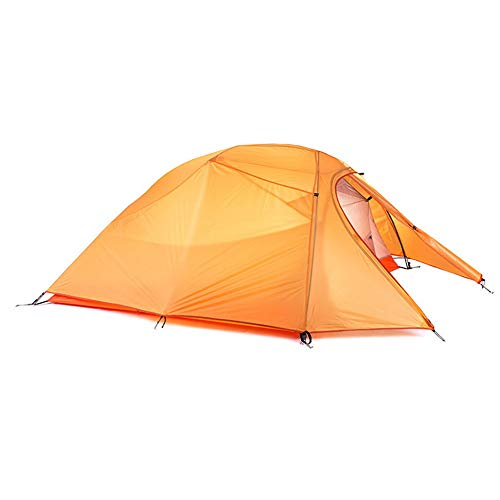 JooGoo Outdoor 3-4 Person Dome Aluminium Paal Tent Ultra Licht Camping Dubbele Regendicht En Winddicht Verdikking Vier Seizoen Tent