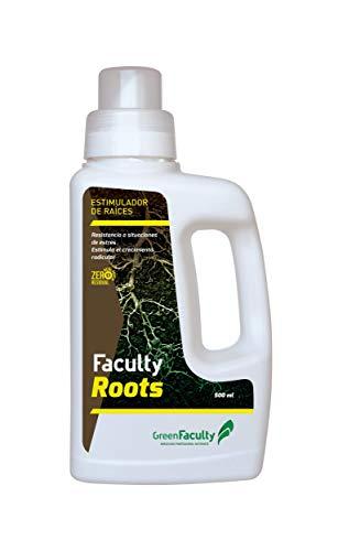 GreenFaculty - Roots - Enraizante para Esquejes. Enraizador Líquido Ecológico Natural. Fertilizante Abono de Raíces. Activador Enraizamiento Concentrado 500 mL