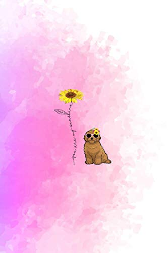 You Are My Sunshine Goldendoodle Sunflower And Gold Vitamin & Supplements Tracker