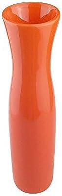 Jarron de Ceramica Rojo de 110 Cent/ímetros Jarrones Grandes de Suelo Jarr/ón de Cer/ámica Alto Suelo Rojo Jarrones Grandes de Decoracion POLONIO Florero de Ceramica Alto