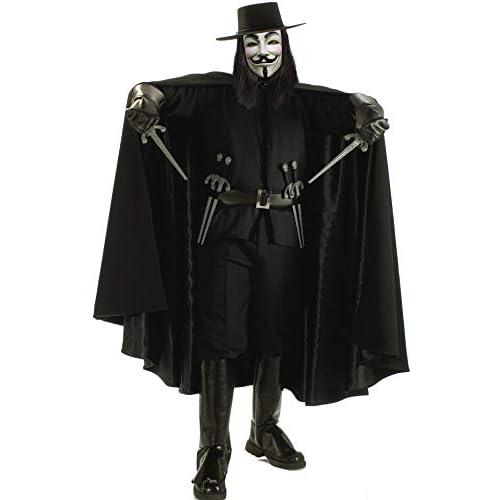 Rubie's V for Vendetta costume, cosplay costume Grand Heritage for men Halloween STD size (Importato da Giappone)