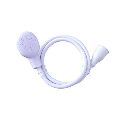 Chowcencen Multifuncional para Mascotas Cabeza de Ducha del Aerosol Spray de Drenajes Drenajes Tamiz Tamiz Baño Manguera Lavabo para lavarse Las Cabezas de Pelo Flexible Grifo de baño